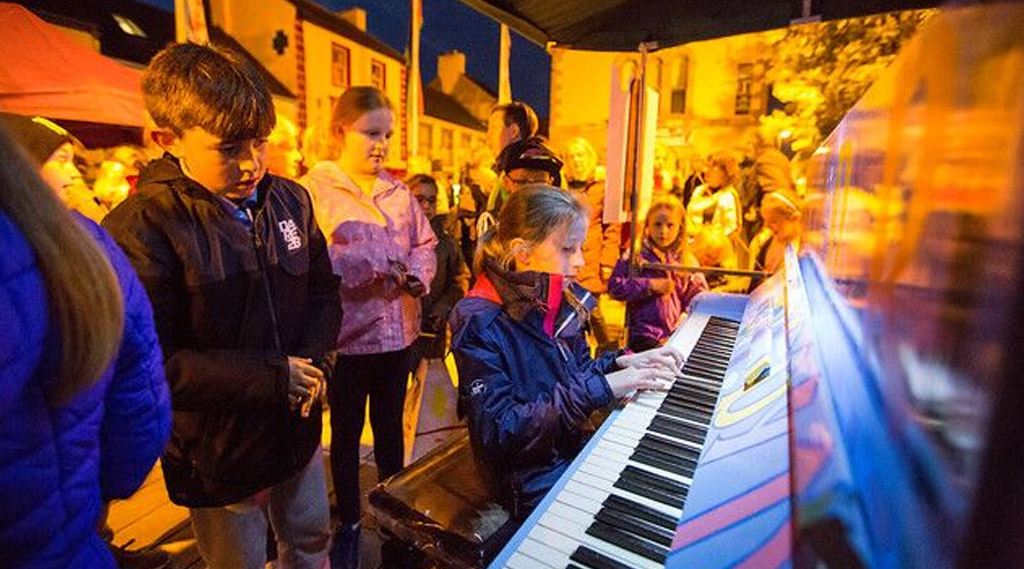 The Play It Again Community Piano
